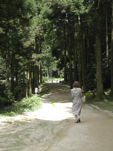 龍源寺間歩出口で撮影したダイスキな一枚